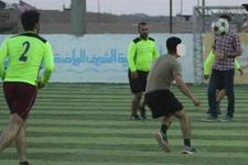 ABD askeri ile YPG'liler maç yaptı