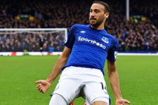 Everton'a Cenk Tosun'un golü yetmedi