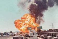İtalya'da havalimanı yakınlarında şiddetli patlama!