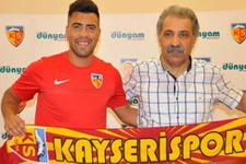 Kayserispor'da Gonzalo Espinoza ile yollar ayrıldı