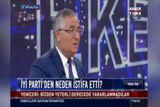 Özcan Yeniçeri İYİ Parti'den neden istifa ettiğini açıkladı