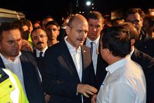 Bakan Soylu duyurdu: 'Tüm maddi kayıpları devletimiz karşılayacak'