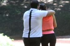 Kameralar önünde öpücüklere boğdu! Ebru Şallı Uğur Akkuş böyle görüldü