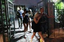 Masaj salonunda fuhuşa polis baskını