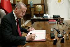 Erdoğan imzaladı Resmi Gazete'de yayımlandı