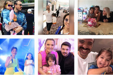 Demet Akalın'ın instagramına bakın! Eşi Okan Kurt'un kızı Hira ile bile...