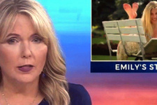 ABD'de sunucu anne, kızının ölüm haberini sundu