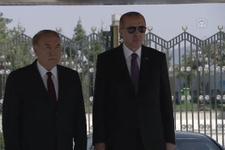 Erdoğan, Nazarbayev'i törenle karşıladı! O detay dikkat çekti