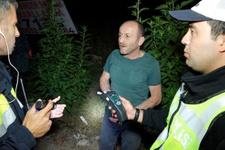 İkinci defa alkollü yakalan sürücü polise bakın ne dedi?