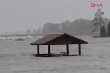 Florence Kasırgası can almaya başladı