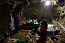 İdlib'de evlerin altı sığınağa dönüştürüldü