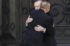 İlham Aliyev'den Cumhurbaşkanı Erdoğan'a sıcak karşılama!