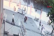 Minibüs küçük çocuğu çarptı arkasına bakmadan kaçtı