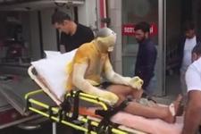 Kırşehir'deki tuz ocağında patlama! Yaralı işçiler var