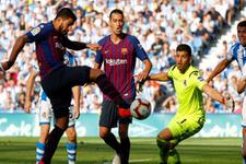 Barcelona'ya üç dakika yetti