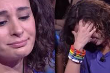 Milyoner'de elenen yarışmacı,seyirciye sitem ederek gözyaşlarına boğuldu