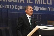 Milli Eğitim Bakanı Ziya Selçuk: 15 Ekim'e kadar sabretsinler