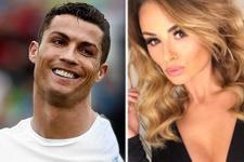Ronaldo'nun eski aşkı Antalya'da evlendi