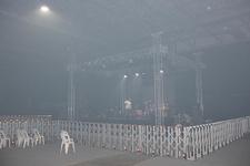 Kebap dumanı konseri iptal ettirdi!