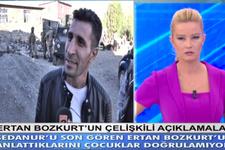 Ertan Bozkurt'un Müge Anlı'ya çıkıp Sedanur'la ilgili söylediği yalanlar