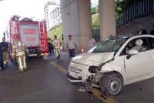 Kadıköy'ü felç eden trafik kazası