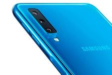 Samsung üç arka kameralı telefonunu tanıttı