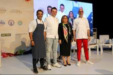 Ünlü şefler Gastronomi Festivali'nde gösteri yaptı