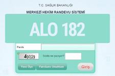 MHRS-ALO182 hastane randevu alma sistem girişi