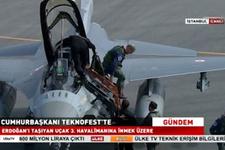 TEKNOFEST 'e F-16 uçağı ile gelen sürpriz isim!
