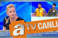 ATV canlı yayını Müge Anlı'nın programında Bozkurt kardeşler...