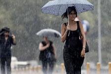 Ankara hava durumu! Yağışlar başladı