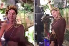 Şeyma Subaşı'nın çılgın dansı sosyal medyaya olay oldu!