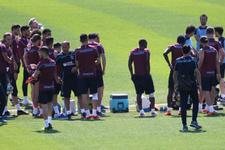Trabzonspor Alanyaspor hazırlıklarına 15 eksikle başladı