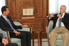 Esed'e ABD'den çok kritik ziyaret!