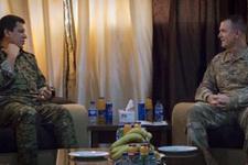 ABD'li General, 4 milyon TL ödülle aranan YPG'li terörist ile görüştü!