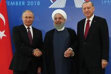 İdlib bildirisinde neler var? Erdoğan- Ruhani ve Putin zirvede karar aldı