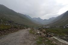 Yılın ilk karı Kaçkar Dağları'nda düştü