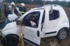 Düğün yolunda feci kaza: 3 ölü 2 yaralı