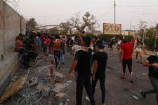 Basra'da Haşdi Şabi karargâhı ateşe verildi