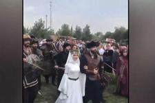 Recep Akdağ'ın oğlu 'Kayı düğünü'yle evlendi