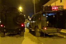 Teröristler yılbaşı gecesini bahane ederek sınırda silah sıktı