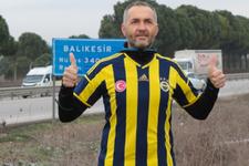 Fenerbahçeli taraftarın koşu totemi