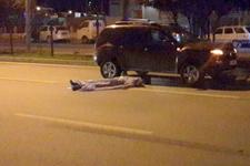 Antalya'da korkunç kaza! Otomobil çarptı, ardından üzerinden cip geçti