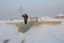 Hakkarili çoban kardan F-35 savaş uçağı yaptı!