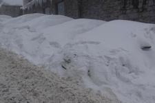 Araçlar kar altında kayboldu jandarmadan destek istediler