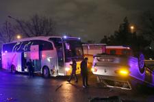 Ankara'daki zincirleme kaza Rus voleybolcular şokta