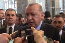 Erdoğan'dan flaş açıklama! Güvenli bölge konusunda olumlu bakıyorum