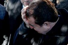 İbrahim Tatlıses annesinin cenaze töreninde yıkıldı!