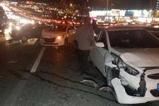 Avcılar D-100 Karayolu'nda zincirleme kaza!