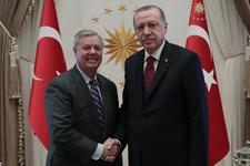 Beştepe'deki kritik Erdoğan - Graham görüşme sona erdi